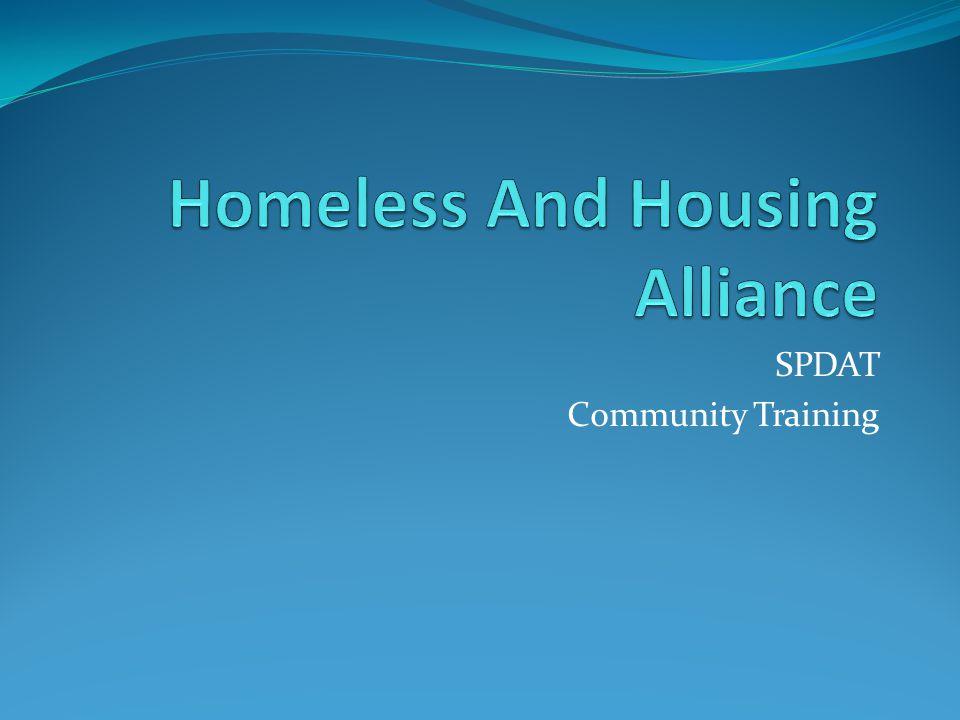 SPDAT Community Training