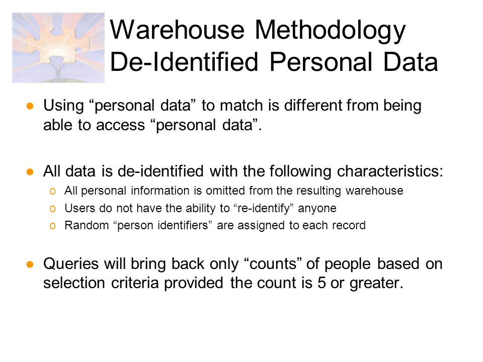 ●Using personal data to match is different from being able to access personal data .
