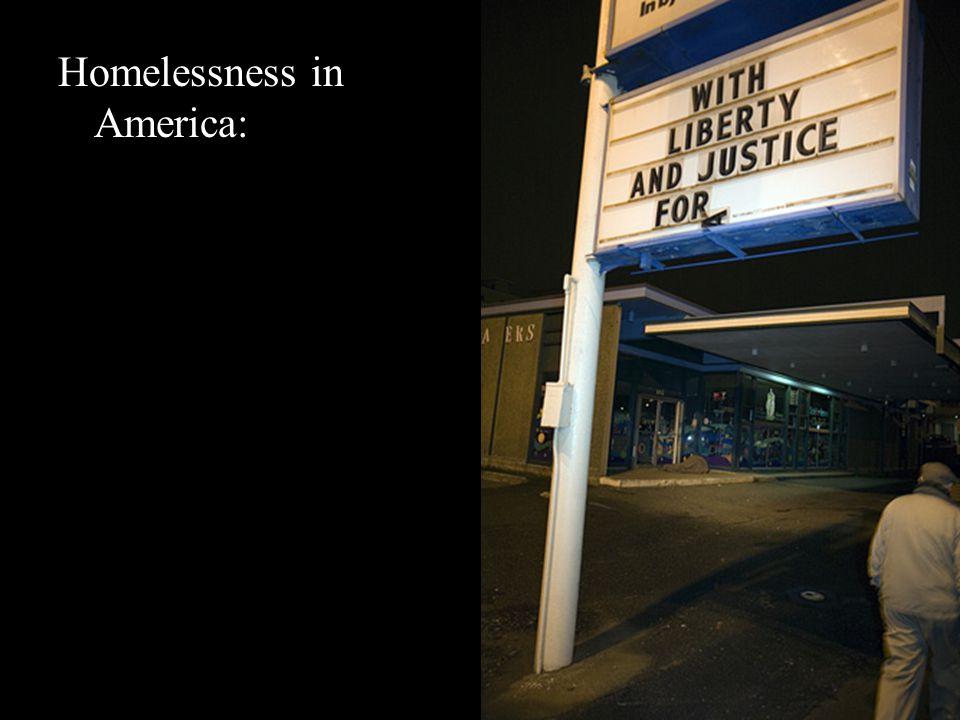 Homelessness in America: