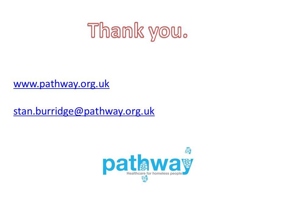 www.pathway.org.uk stan.burridge@pathway.org.uk