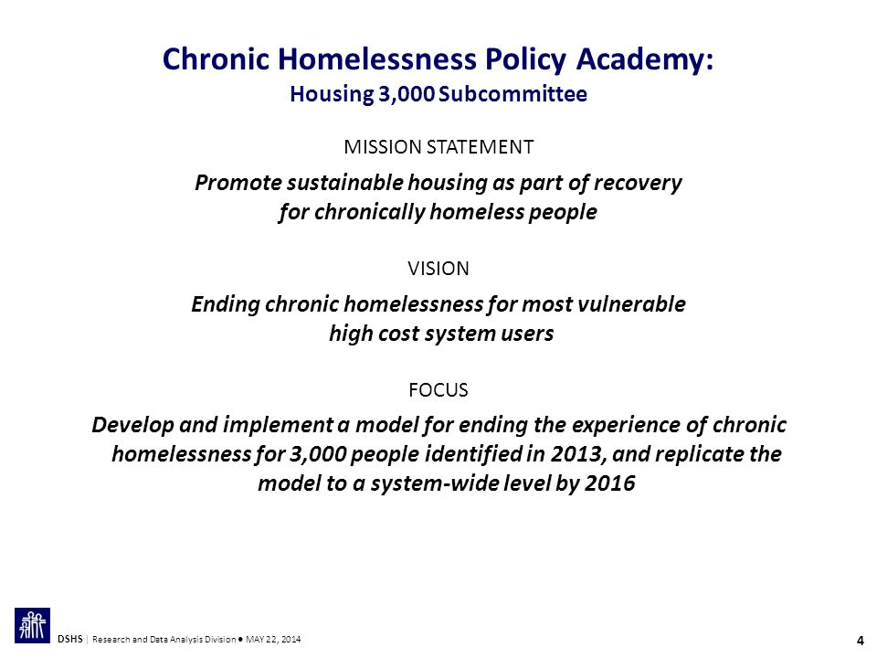 25 DSHS | Research and Data Analysis Division ● MAY 22, 2014 Percent Homeless or Unstably Housed: April 2011-March 2012 20112012 EFH Parents Other TANF Parents SOURCE: The Ending Family Homelessness Pilot: Rapid Re-Housing for TANF Families, Ford Shah, et.al., DSHS Research and Data Analysis Division, January 2014.