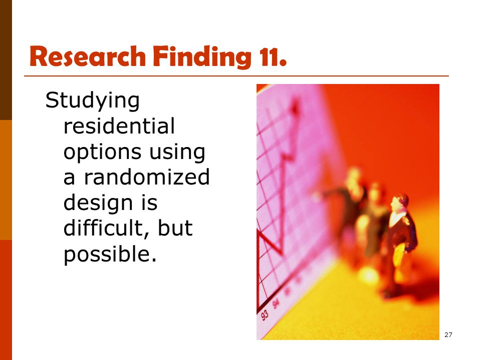 27 Research Finding 11.