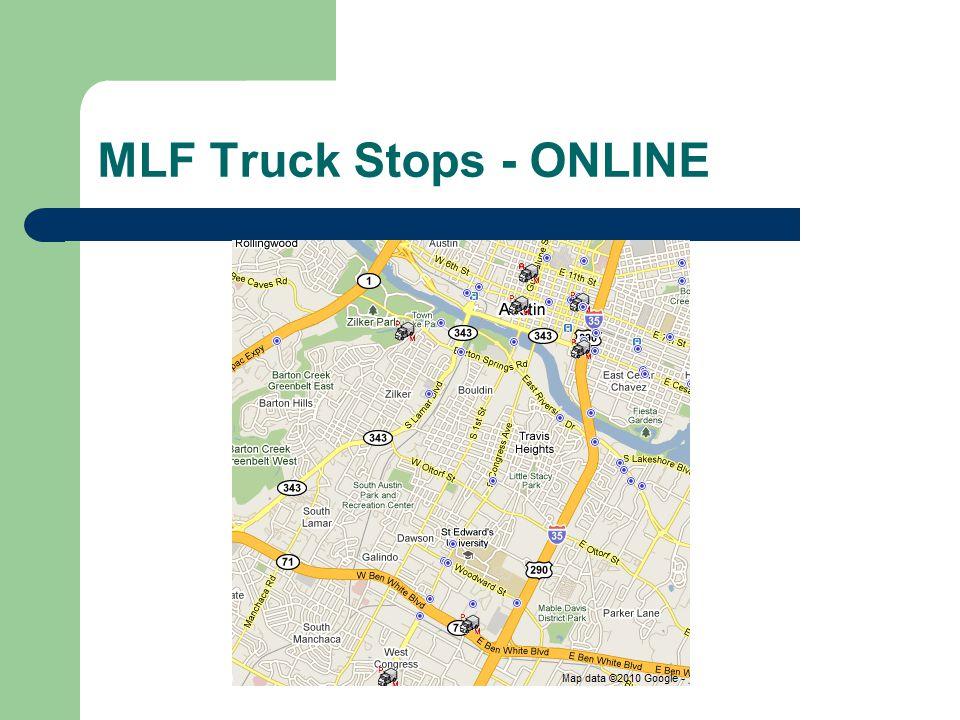 MLF Truck Stops - ONLINE