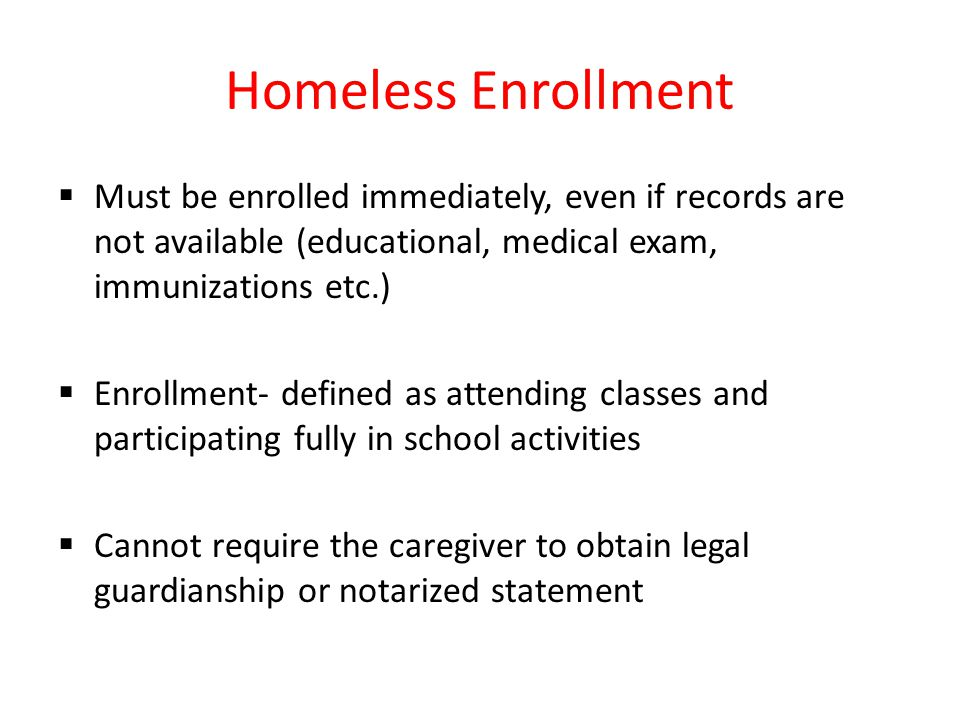 Homeless/Foster Care Coding  Coding of a student's homeless or foster care status/eligibility is completed by the district office only  School enters the assignment code if the student lives out of the boundary and maintains their school of origin  84- Homeless  29- Foster Care  Assignment codes must be re-entered for each new school year if the homeless/foster care status is the same