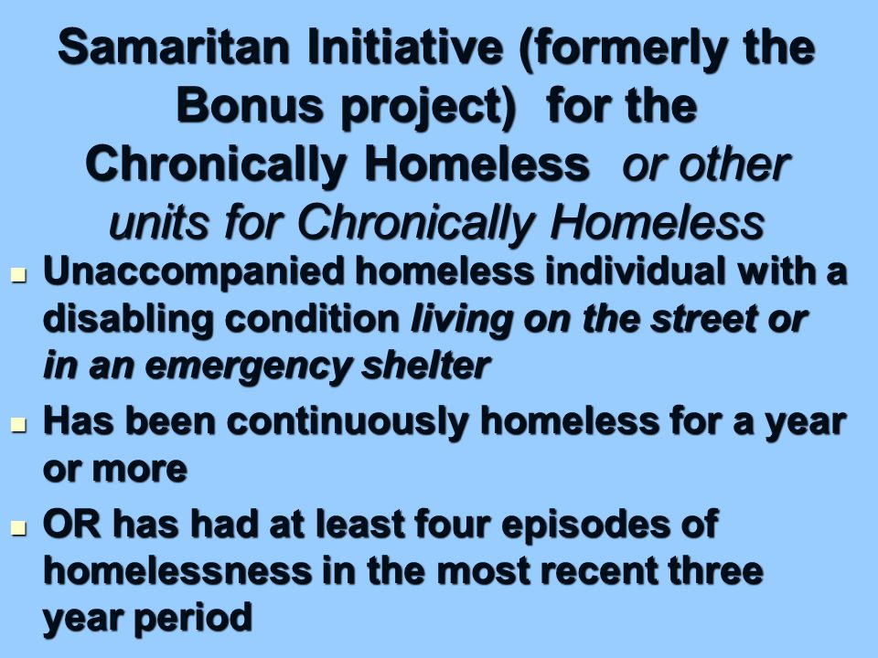 Supportive Housing Program Components or Activities 1.