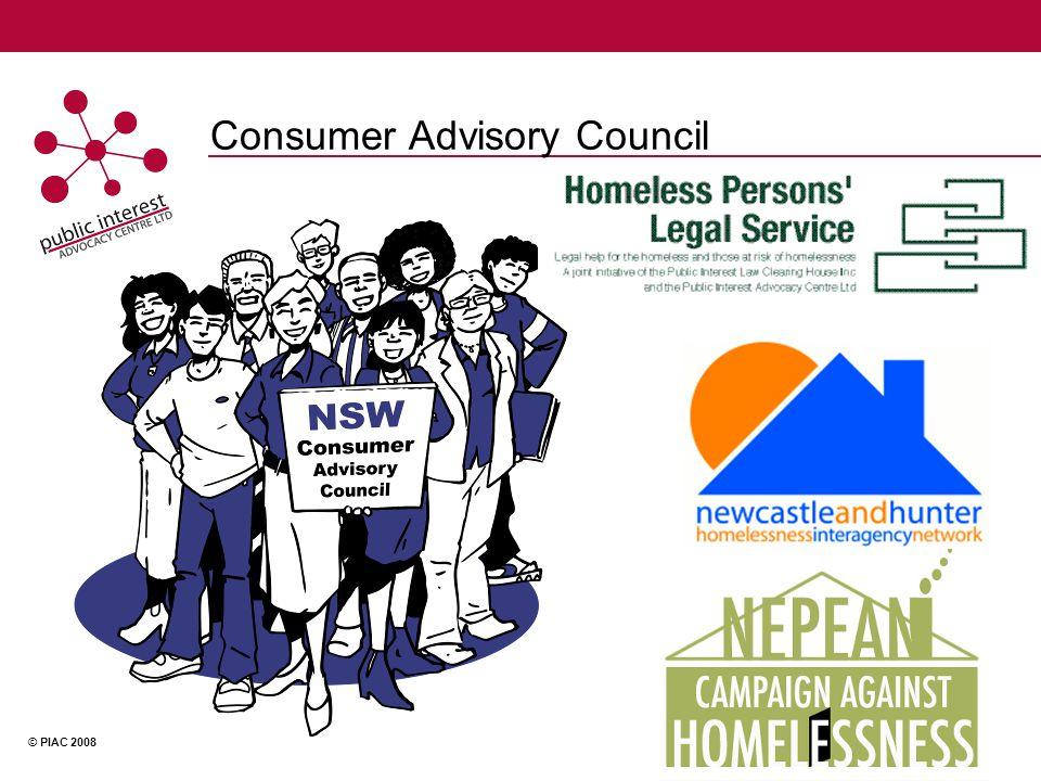 © PIAC 2008 Consumer Advisory Council