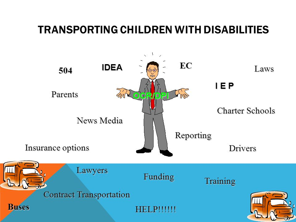 TRANSPORTING STUDENTS WITH DISABILITIES
