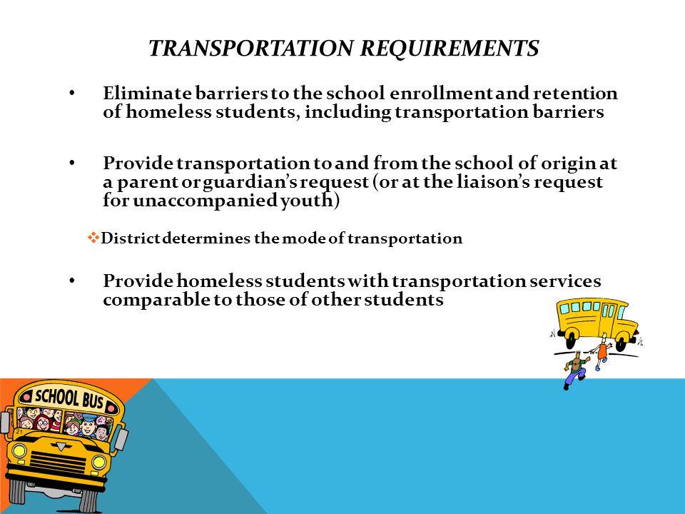 SPECIAL TRANSPORTATION Q2.