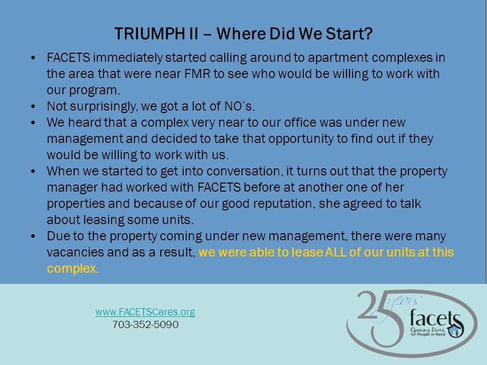 6 TRIUMPH II – Where Did We Start.