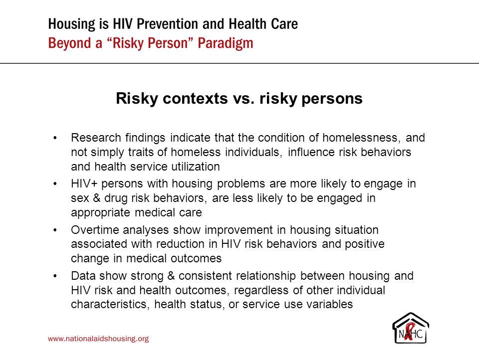 Risky contexts vs.