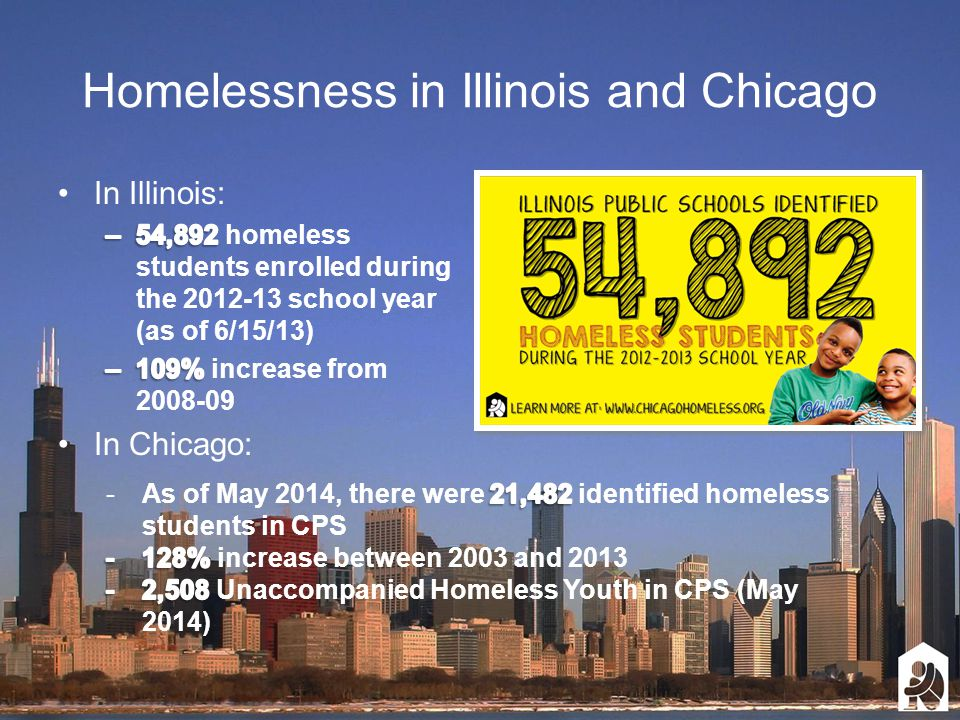 Homelessness in Illinois and Chicago