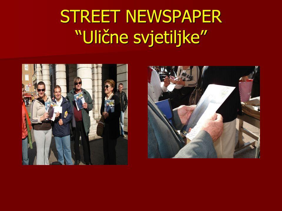 STREET NEWSPAPER Ulične svjetiljke