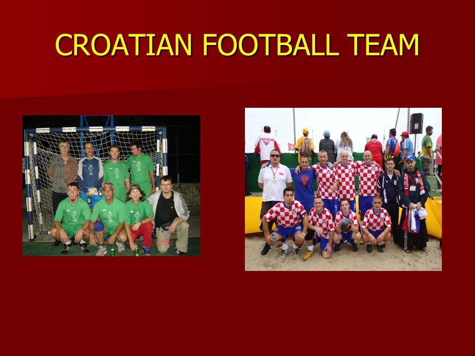 CROATIAN FOOTBALL TEAM