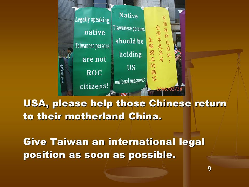 USA, please help those Chinese return to their motherland China.