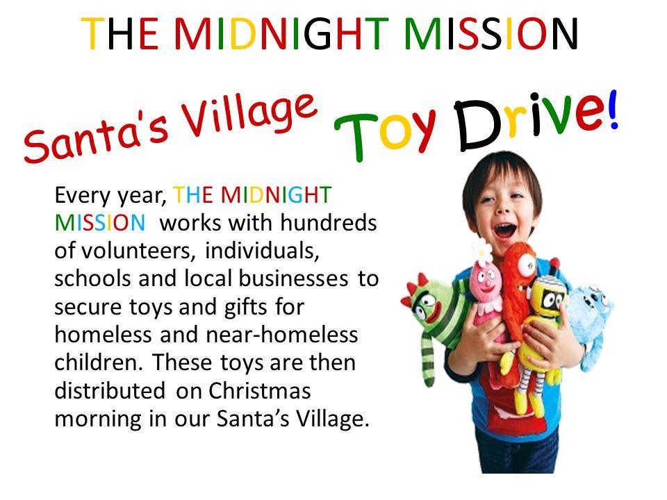 Santa's Village Toy Drive.