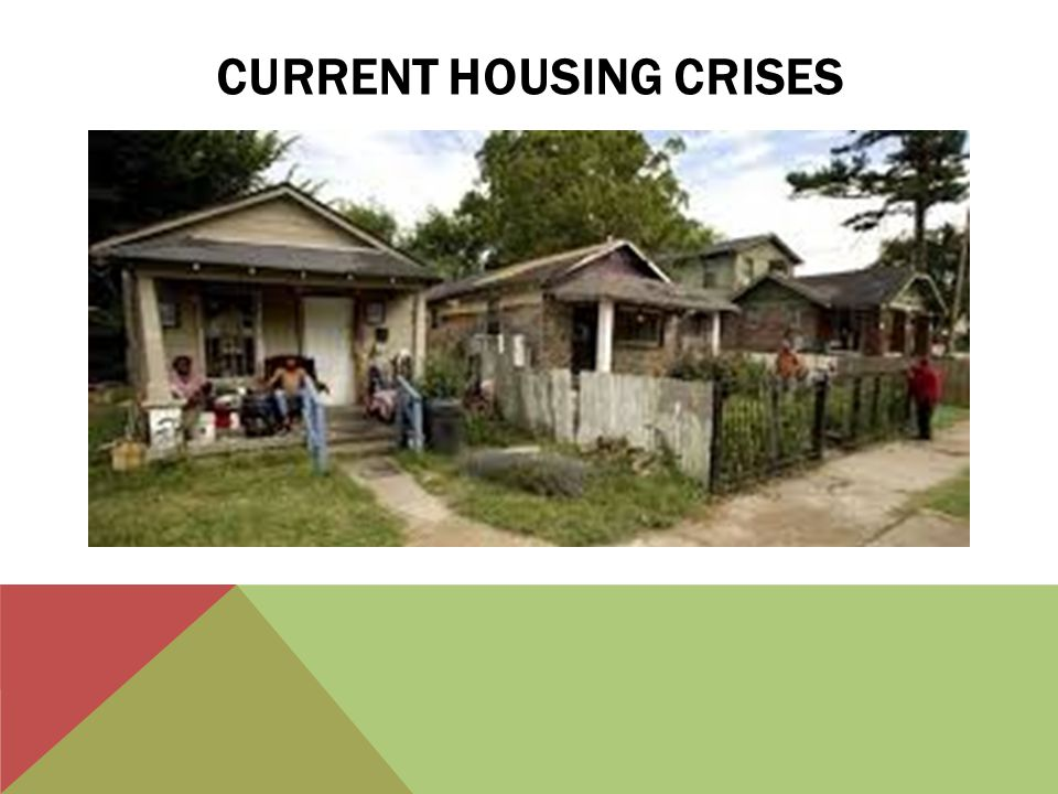 CURRENT HOUSING CRISES