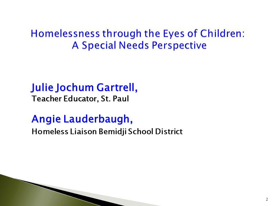 Julie Jochum Gartrell, Teacher Educator, St.
