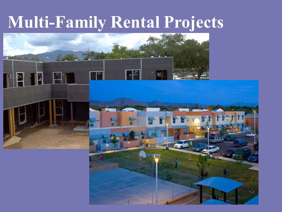 Multi-Family Rental Projects