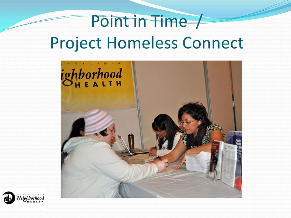 Point in Time / Project Homeless Connect