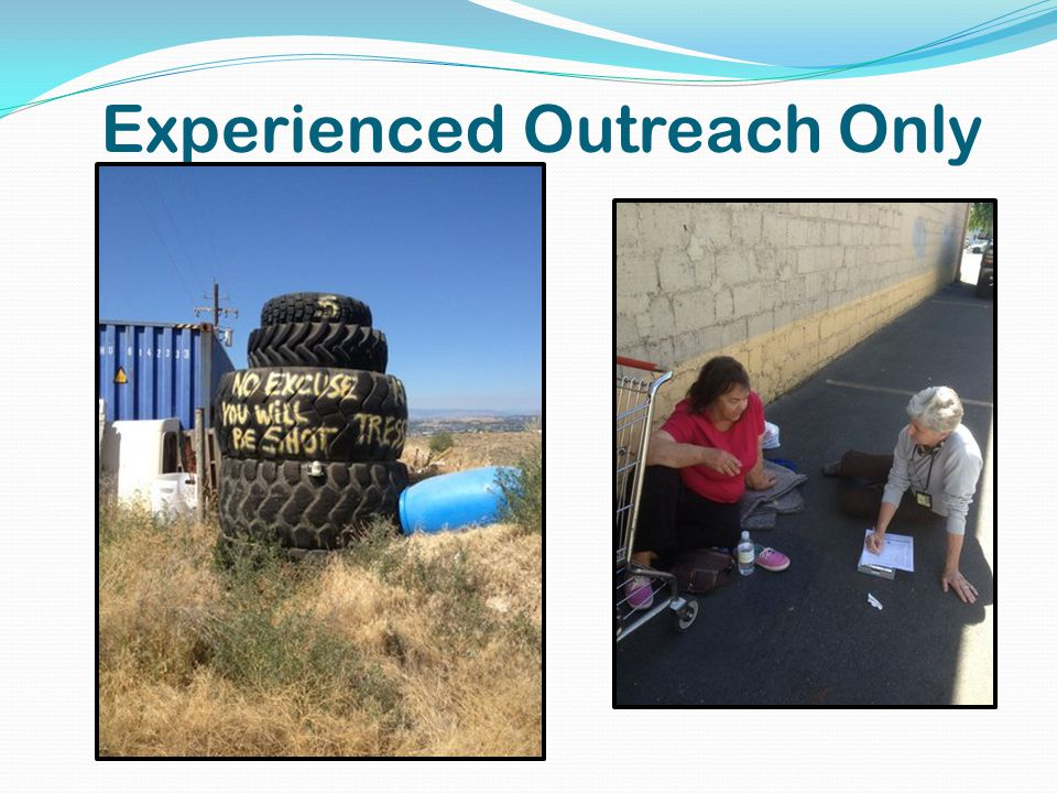 Experienced Outreach Only