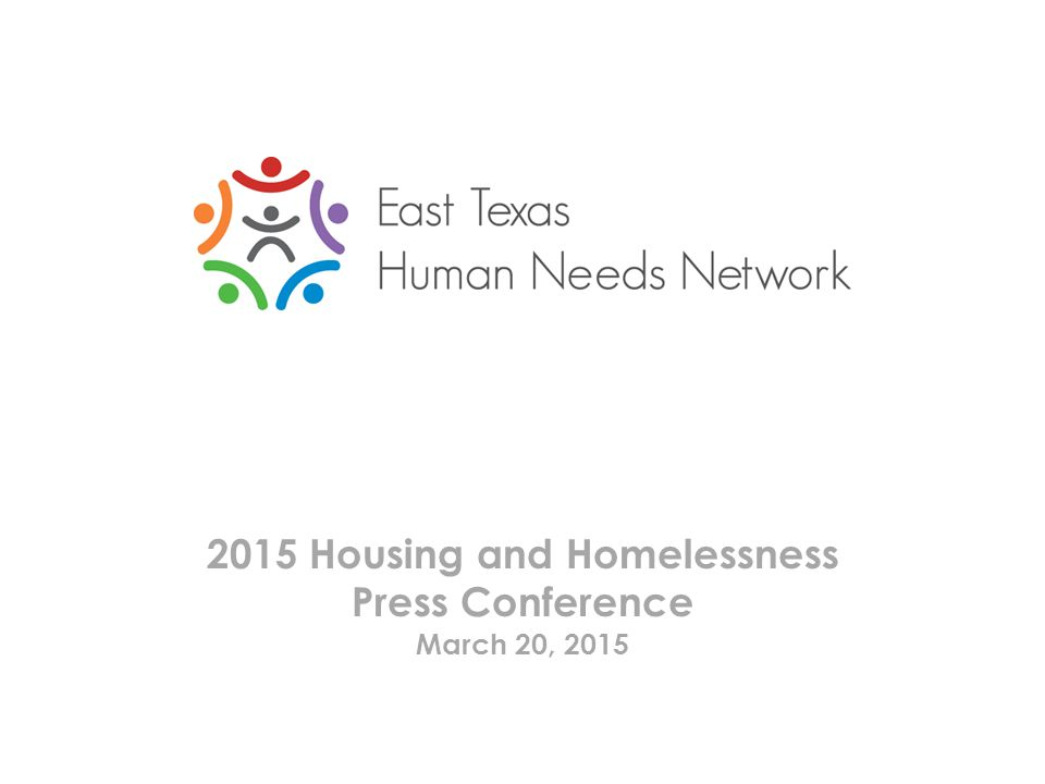 2015 Housing and Homelessness Press Conference March 20, 2015