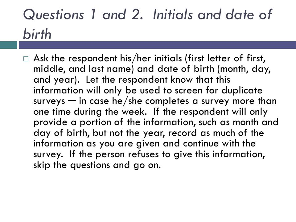 Questions 1 and 2.