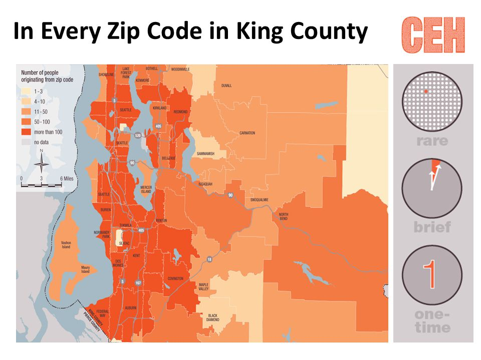 In Every Zip Code in King County
