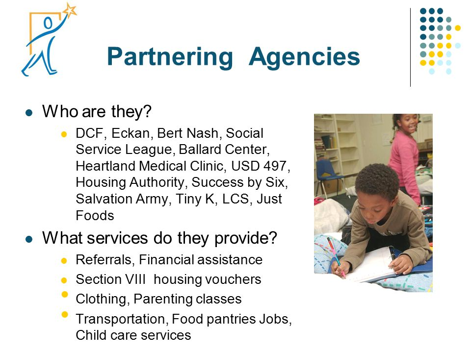 Partnering Agencies Who are they.