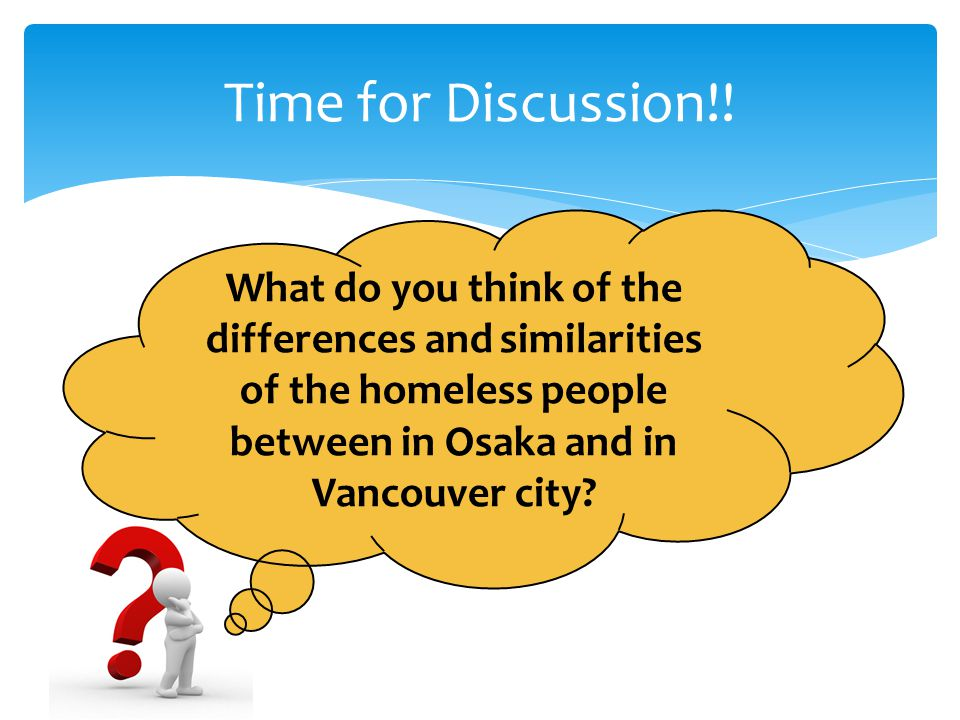 Time for Discussion!.