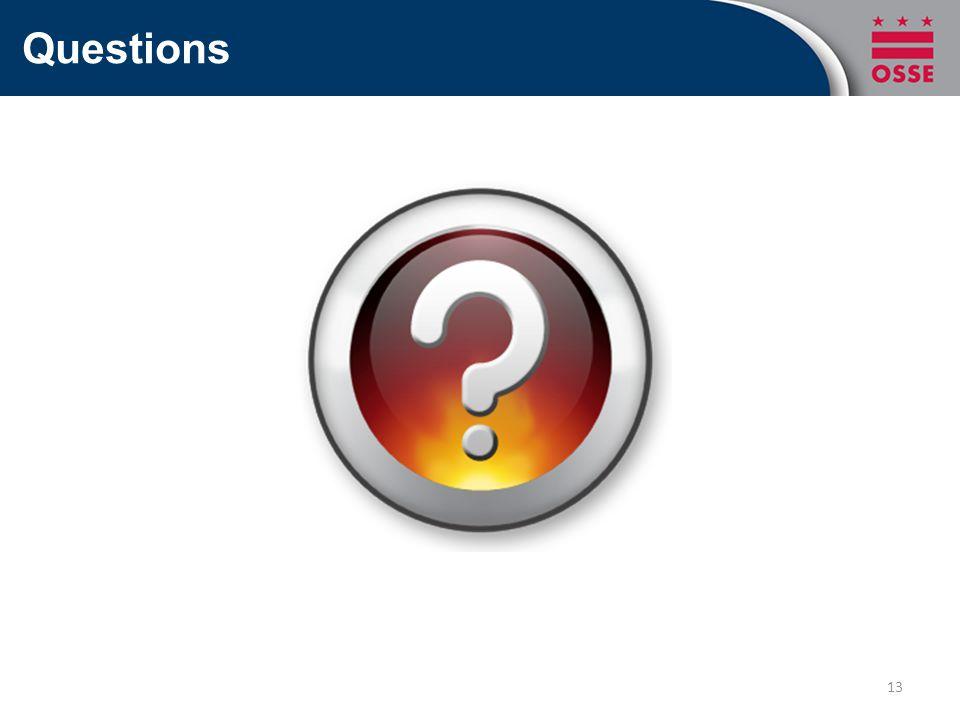Questions 13