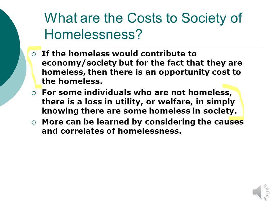 Homelessness: Next Steps Dr.