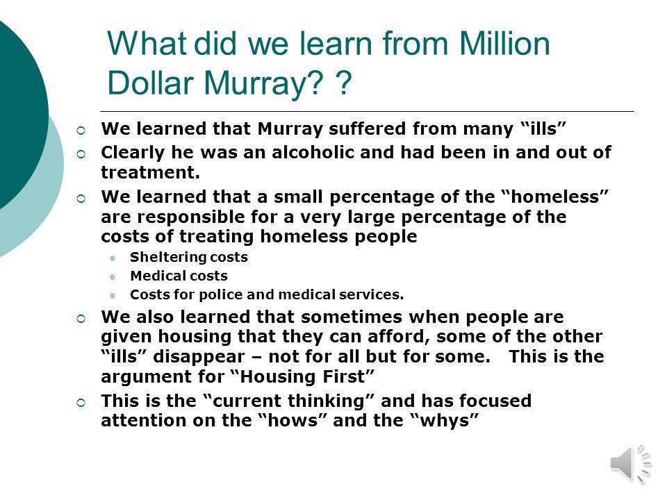 Homeless Causes/Correlates.