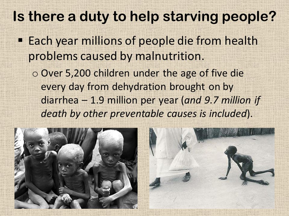 Is there a duty to help anyone.