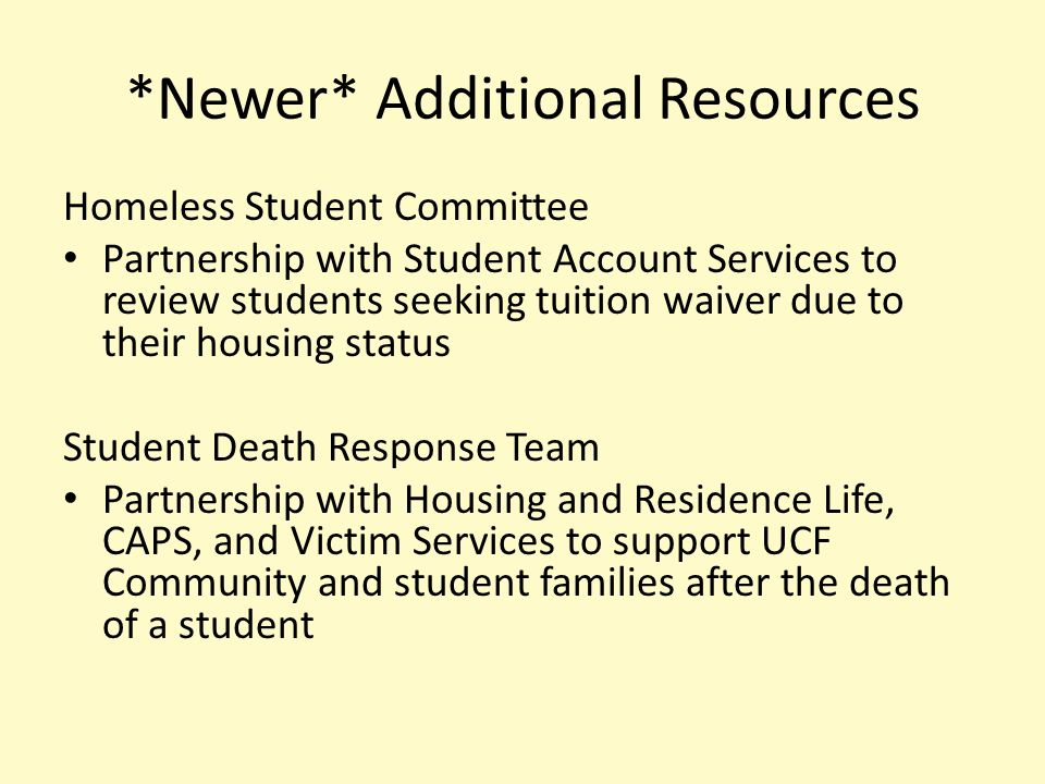 Campus Resources….Learn More.