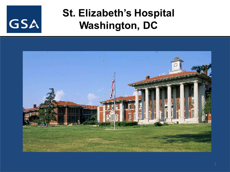 5 St. Elizabeth's Hospital Washington, DC