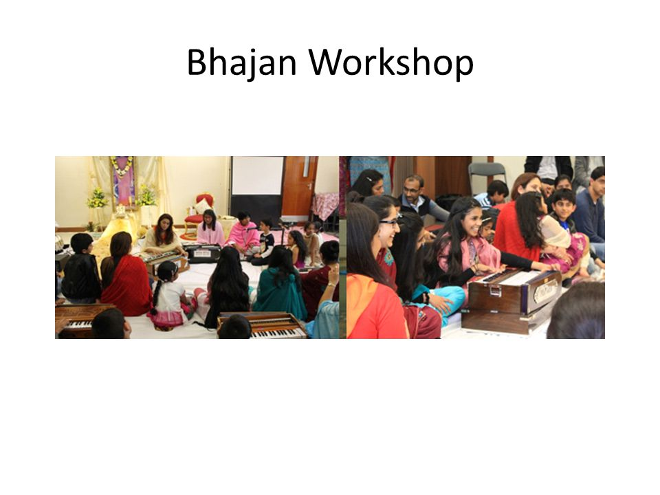 Bhajan Workshop