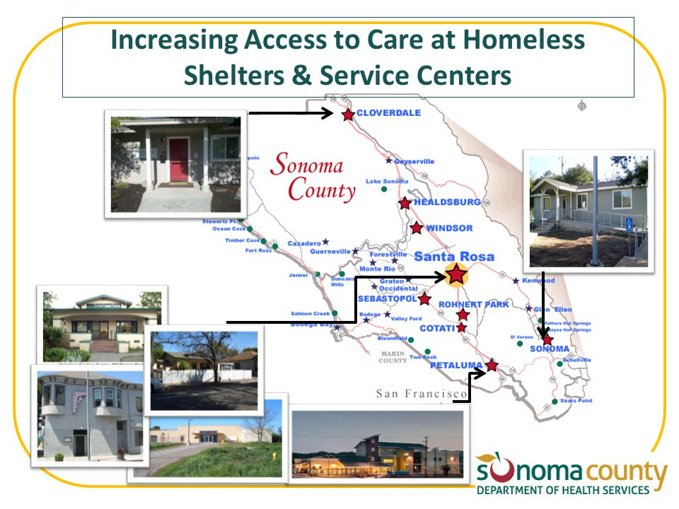 Increasing Access to Care at Homeless Shelters & Service Centers