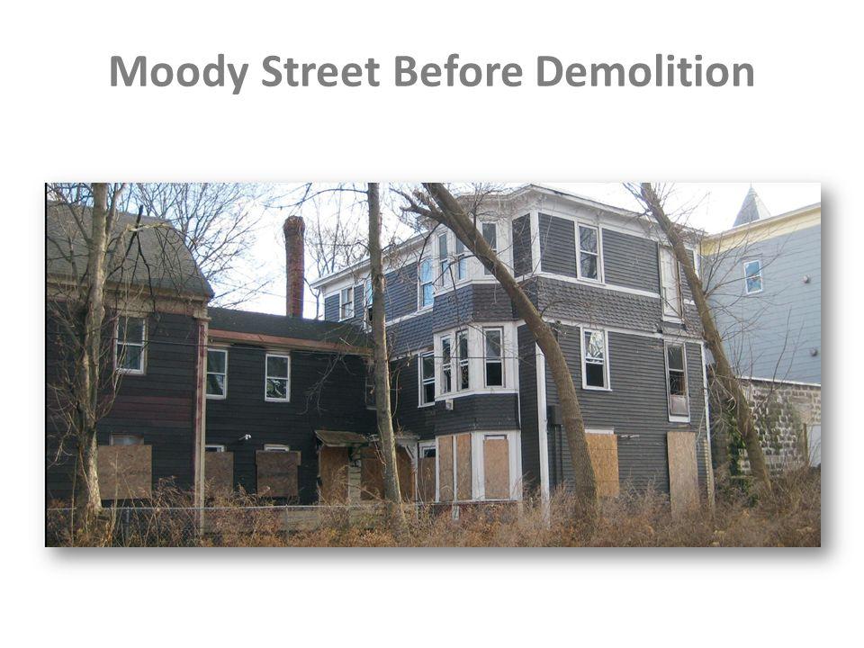 Moody Street Before Demolition