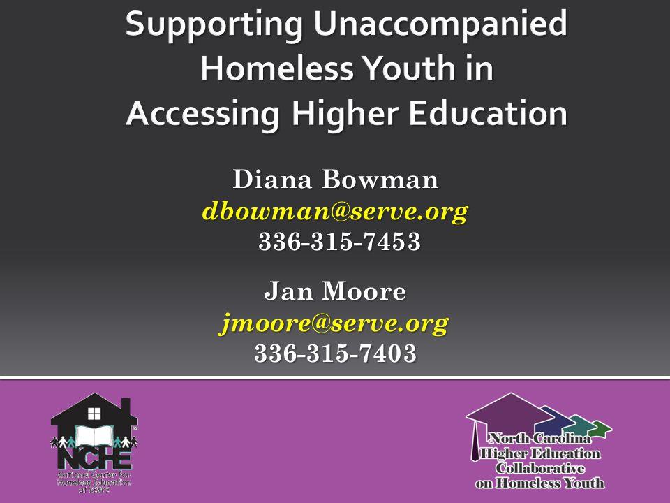 Diana Bowman dbowman@serve.org 336-315-7453 336-315-7453 Jan Moore jmoore@serve.org 336-315-7403