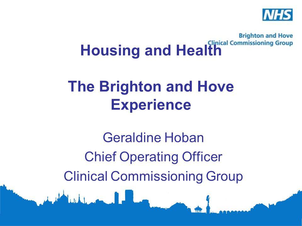 Housing - A Key Determinant of Health
