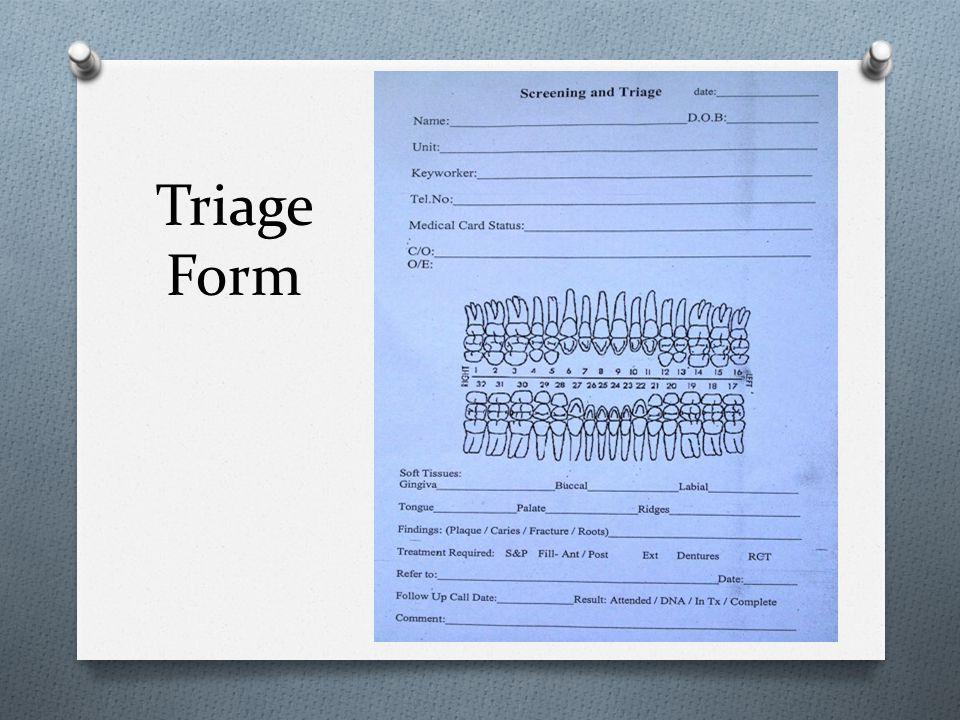 Triage Form