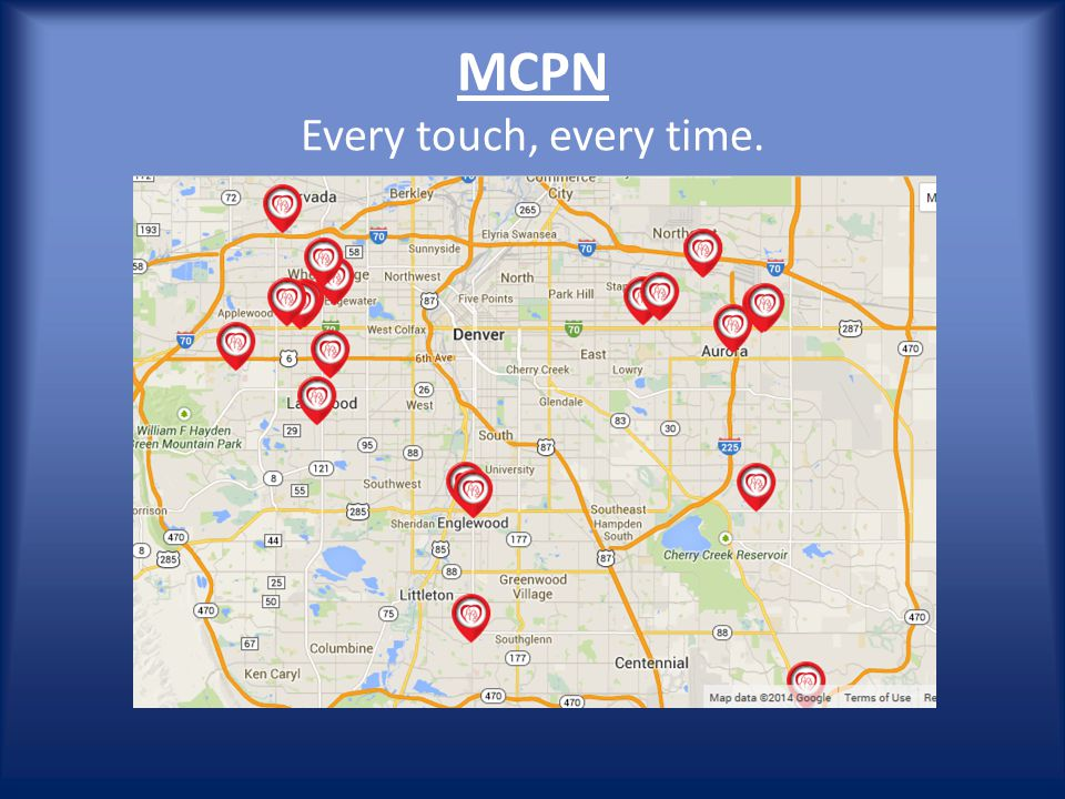 MCPN Every touch, every time.