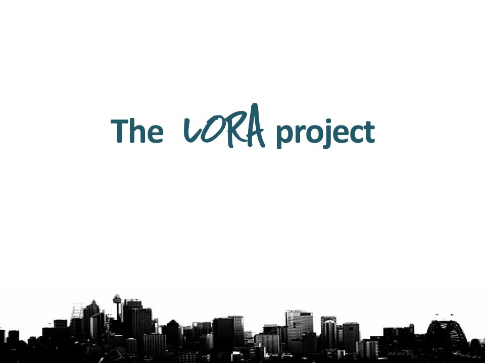The lora project