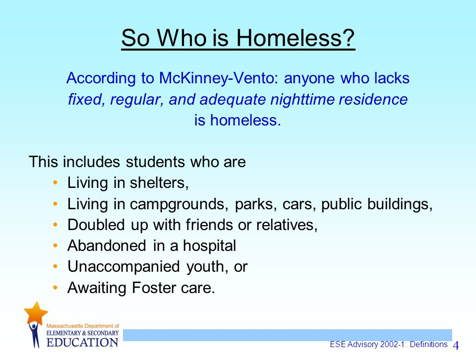 4 So Who is Homeless.