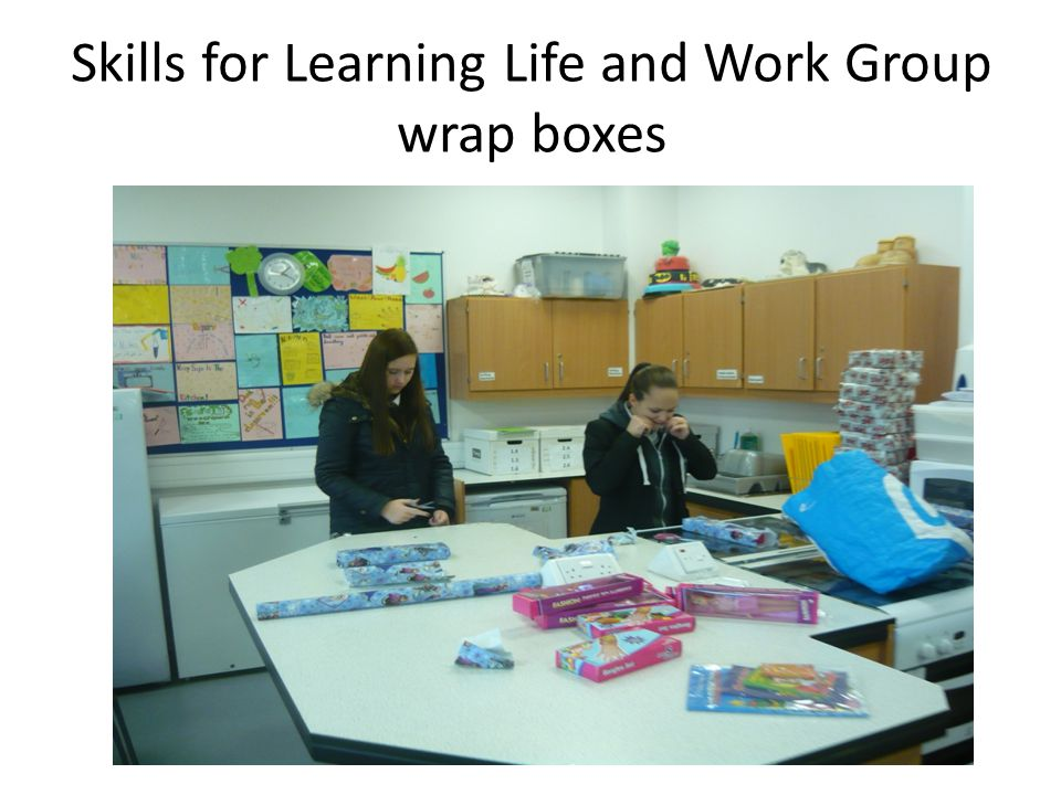 Skills for Learning Life and Work Group wrap boxes
