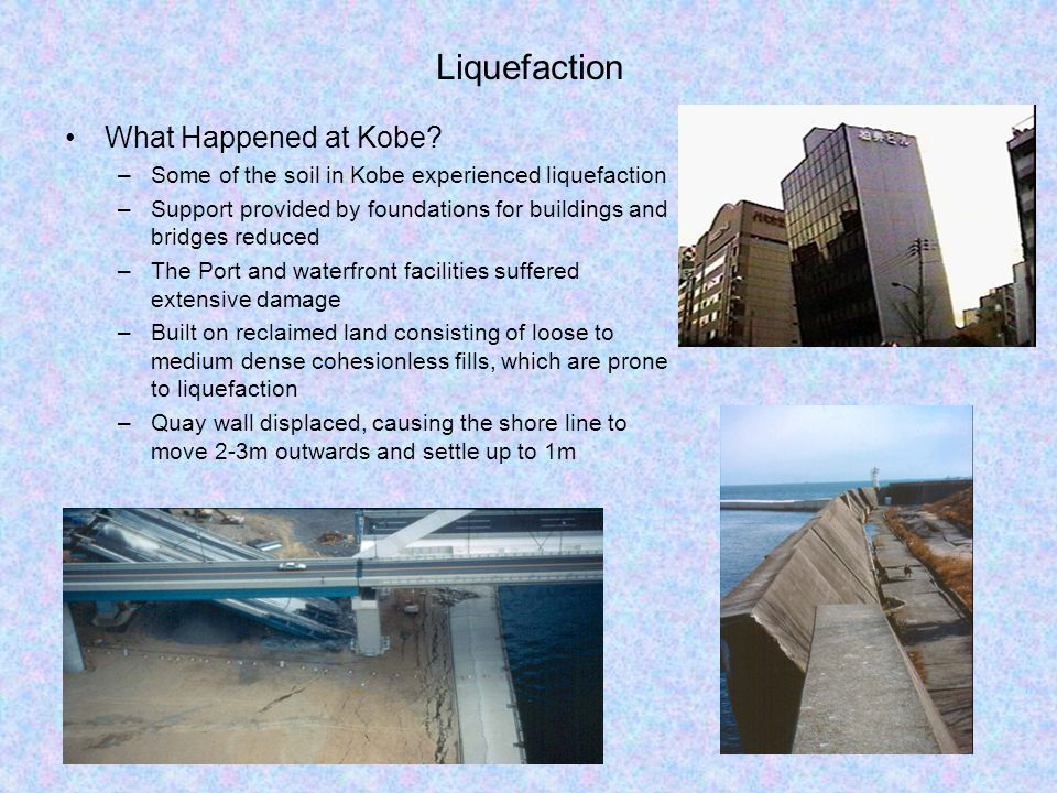 Liquefaction What Happened at Kobe.