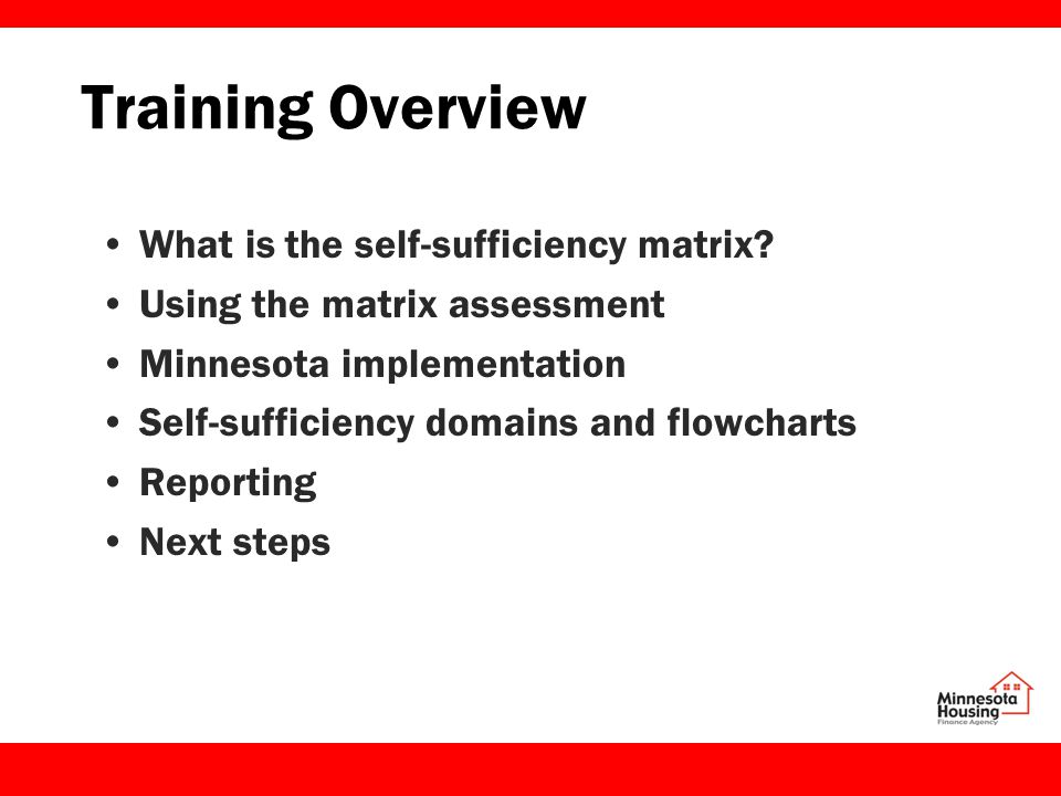 Next steps at your agency: 1.Determine who will conduct the assessment with which participants and how.