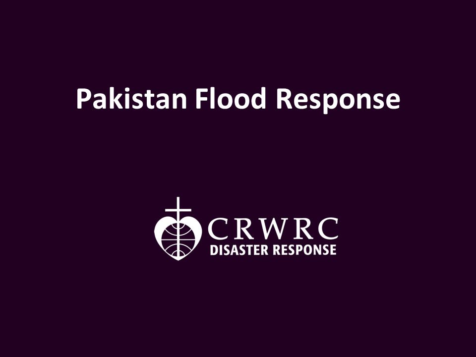 Pakistan Flood Response