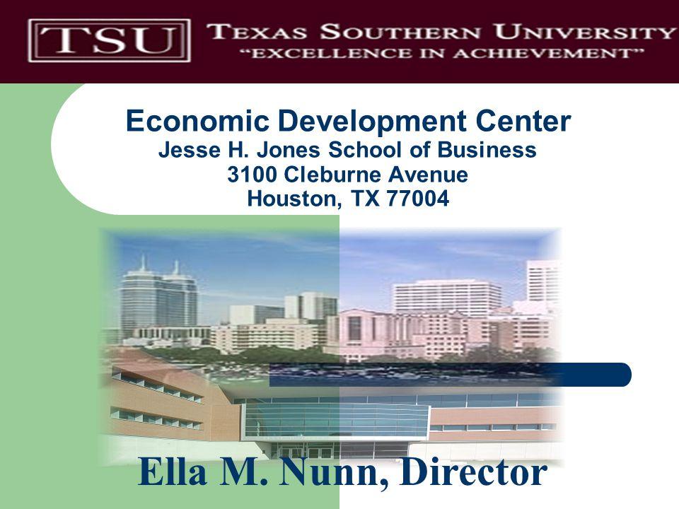 Economic Development Center Jesse H.