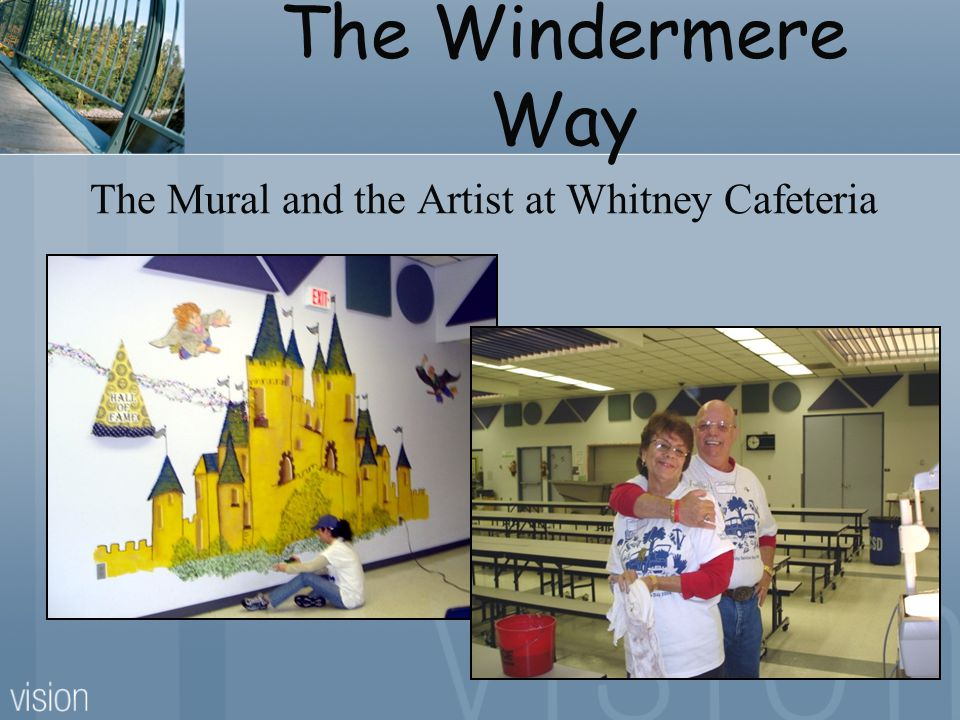 The Windermere Way The Mural and the Artist at Whitney Cafeteria